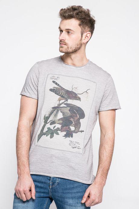 Man's T-shirt męski Utility piaskowy