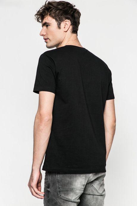T-shirt męski Slow Future czarny