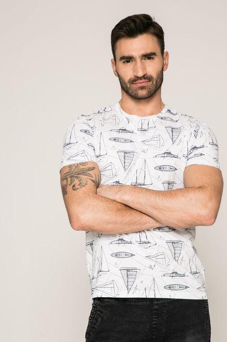 T-shirt męski Slow Future biały