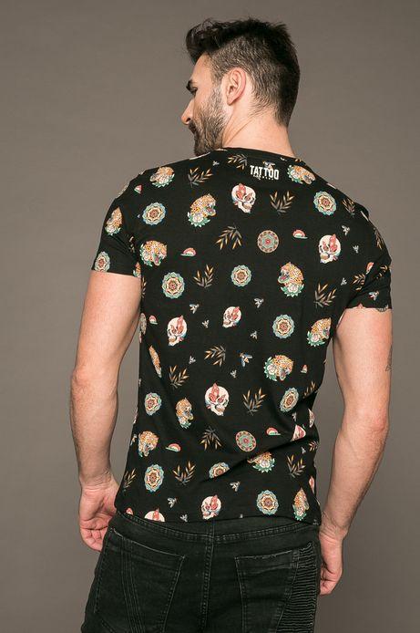 T-shirt męski by Patryk Hilton, Tattoo Konwent czarny