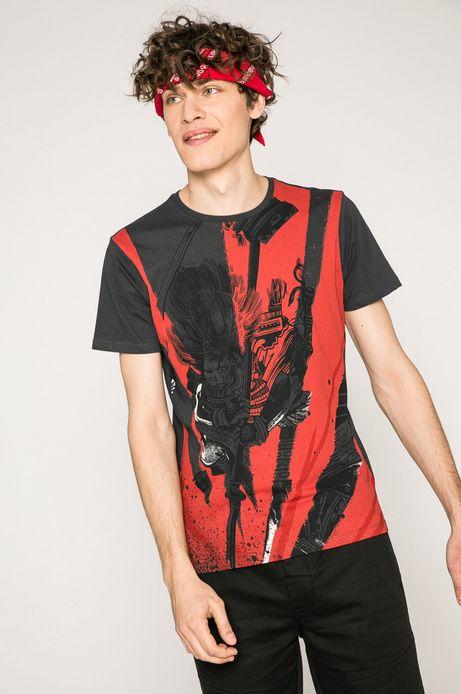 Man's T-shirt męski x Kalina Szymkiewicz szary