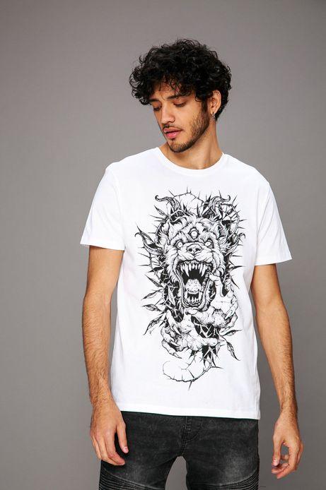 T-shirt by Piotr Bemben, Tattoo Konwent biały