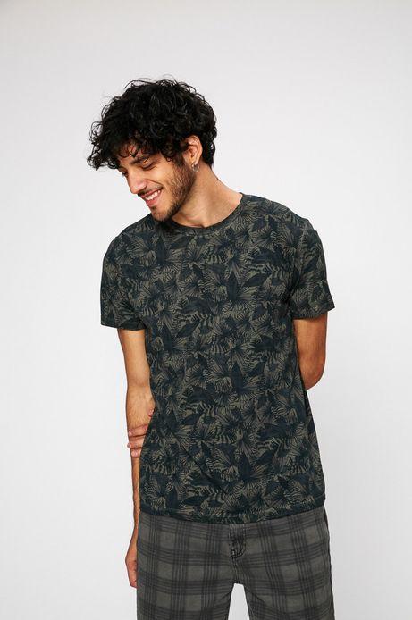 Man's T-shirt męski Traveller szary