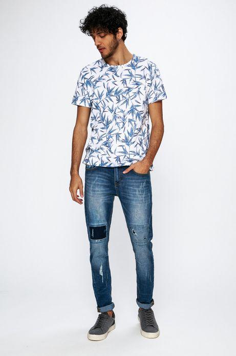 T-shirt męski Traveller biały