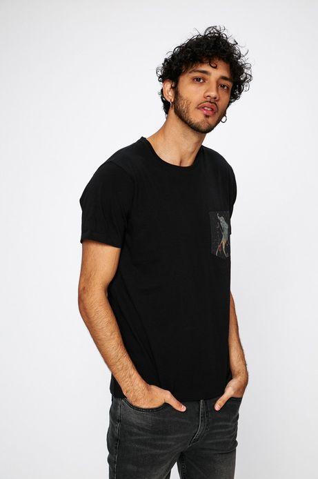 T-shirt Antoni Kuźniarz for Medicine czarny