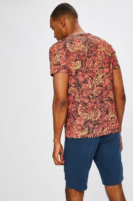 Man's T-shirt męski African Roots czerwony