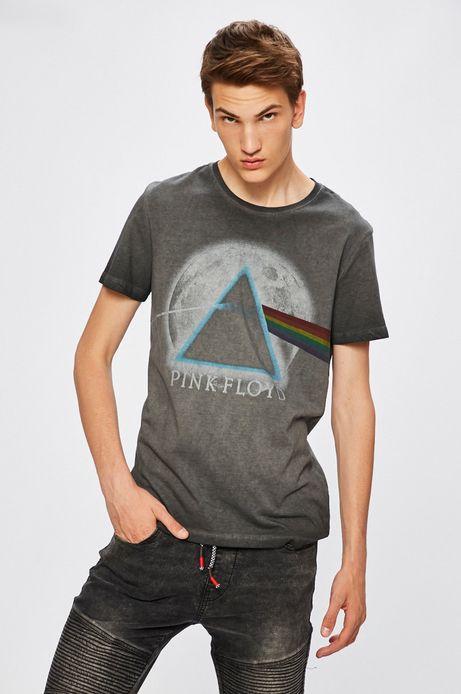 Man's T-shirt męski Desert Grunge, Pink Floyd szary