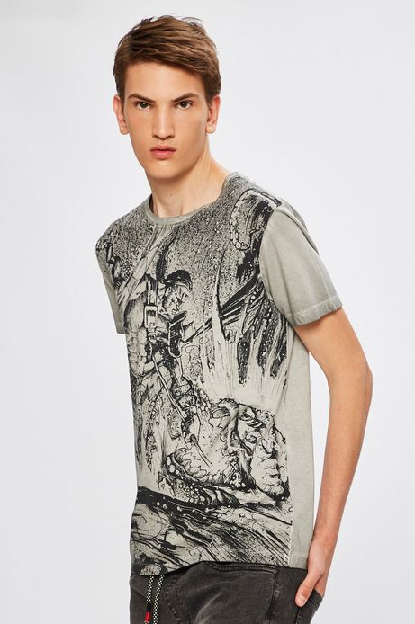 Man's T-shirt by Marcin Medziński, Grafika Polska