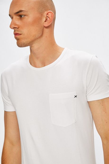Man's T-shirt Arizona Dream biały