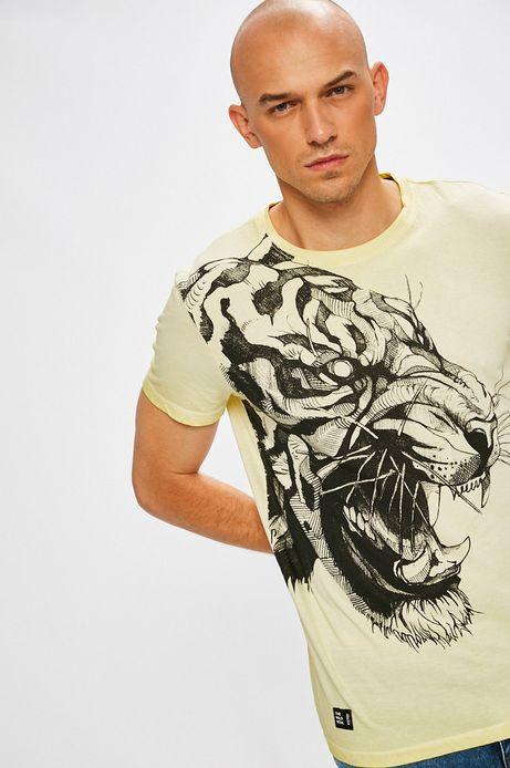 Man's T-shirt Antoni Kuźniarz for Medicine żółty