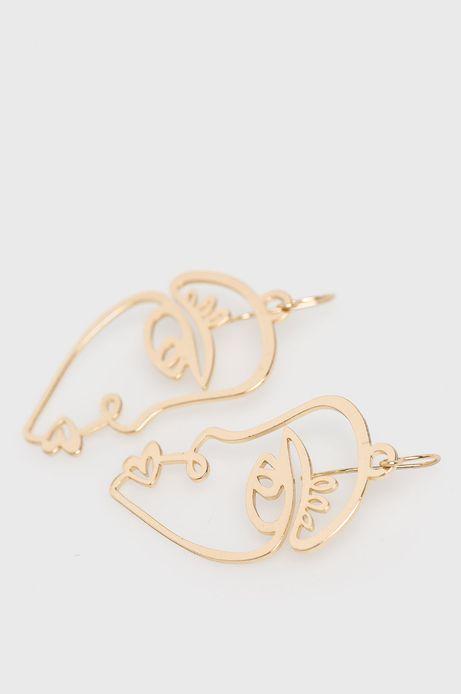 Kolczyki damskie złote