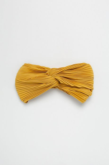 Opaska damska żółta