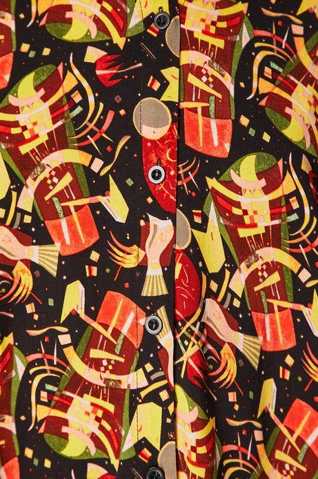Koszula z kolekcji Eviva L'arte wzorzysta