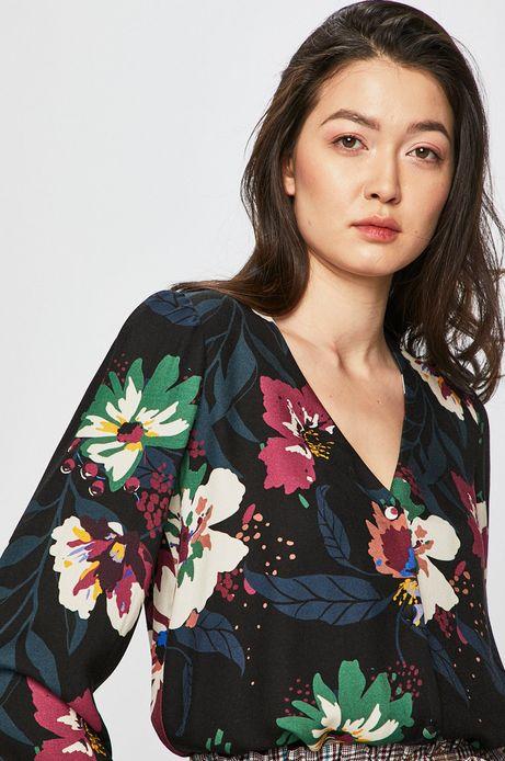 Koszula damska w kwiaty