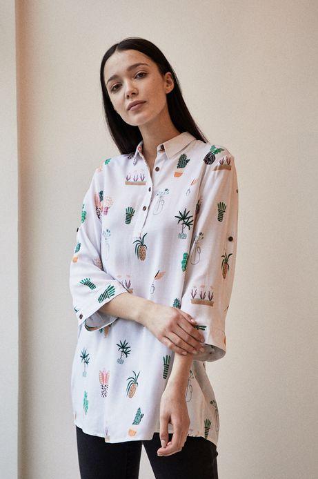 Koszula damska by Anna Rudak biała
