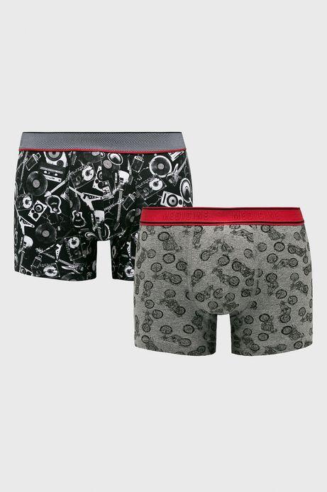 Bokserki męskie wzorzyste (2-pack)