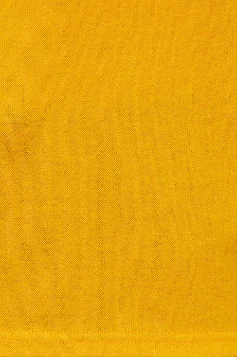 Bluza damska z wiązaniem na rękawach żółta