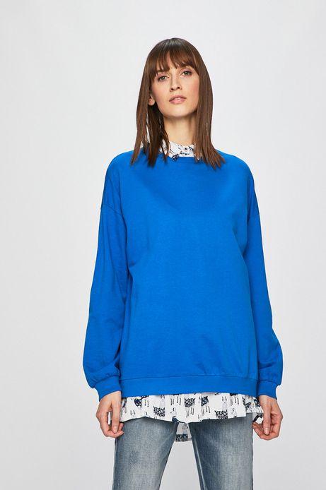 Bluza damska niebieska
