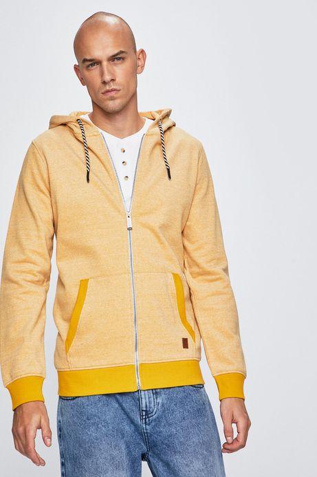 Bluza męska Basic żółta