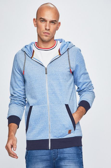 Bluza męska Basic niebieska