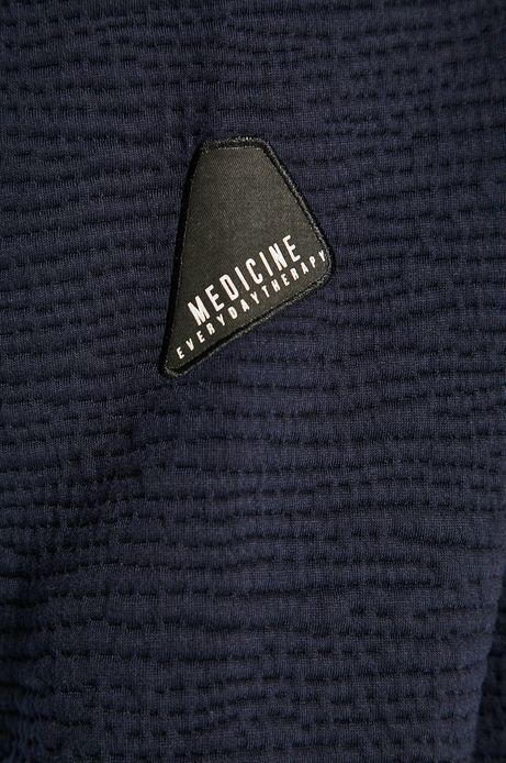 Bluza męska z kieszeniami granatowa