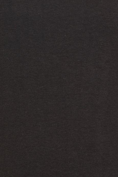 Bluzka damska z rękawem 3/4 czarna