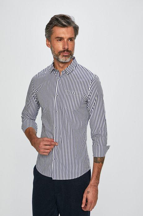 Koszula męska slim fit w paski