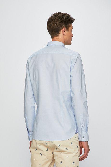 Koszula męska gładka niebieska
