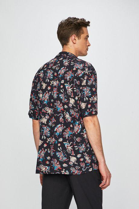 Koszula męska wzorzysta