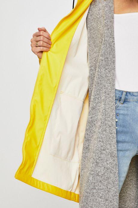 Kurtka przeciwdeszczowa damska żółta