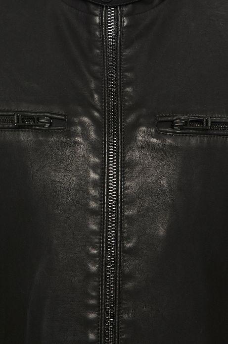Kurtka męska na podszewce czarna