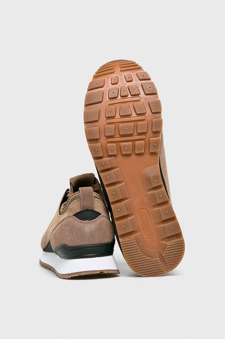 Skórzane buty męskie brązowe