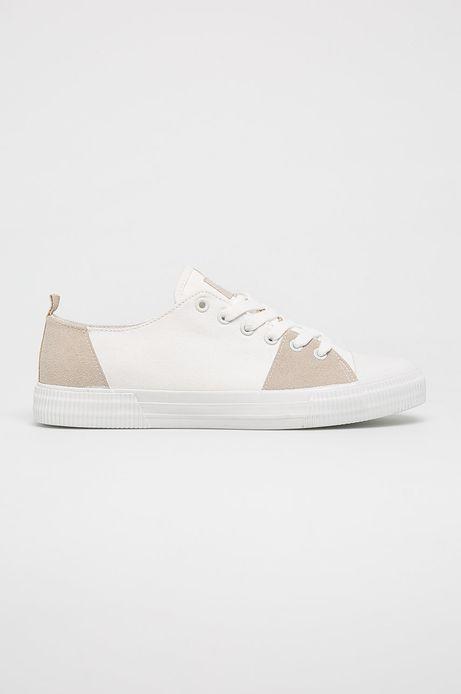 Buty męskie białe