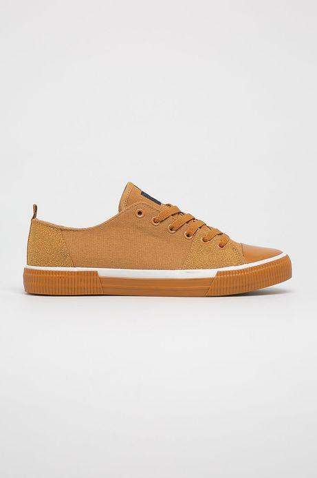 Buty męskie żółte