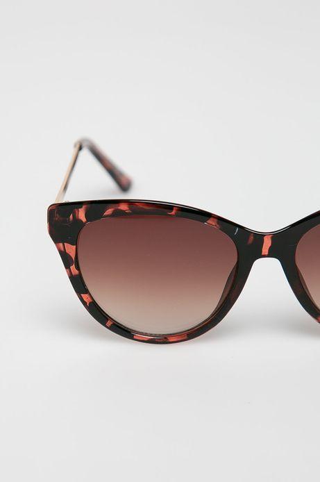 Okulary przeciwsłoneczne damskie typu kocie oczy