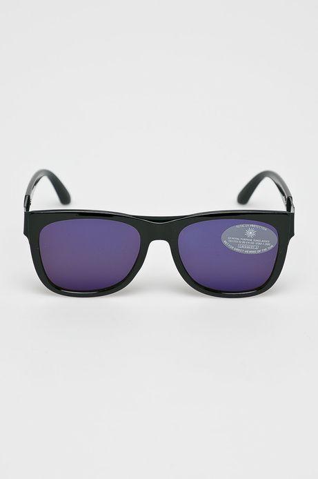 Okulary przeciwsłoneczne męskie czarne