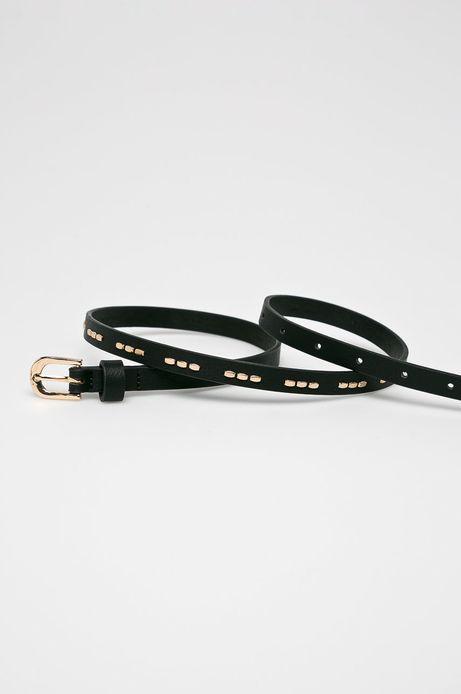 Pasek damski czarny (2-Pack)