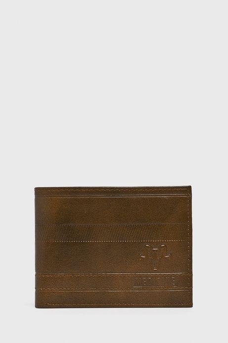 ba4fd7a70e64d Portfel skórzany męski brązowy