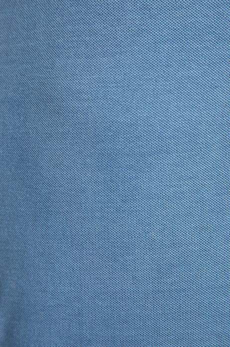 Polo męskie w fasonie slim niebieskie