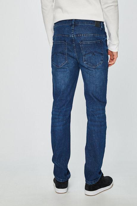 Jeansy męskie regular niebieskie