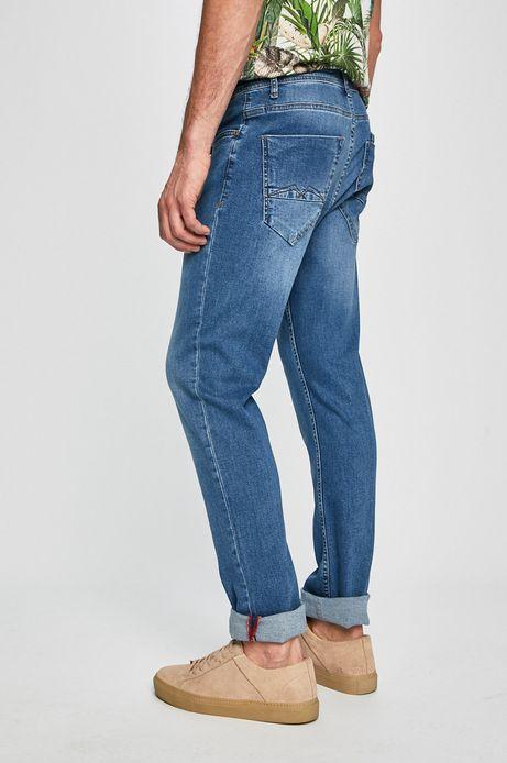 Jeansy męskie niebieskie
