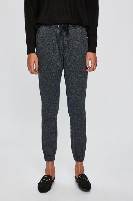 Spodnie damskie joggery szare