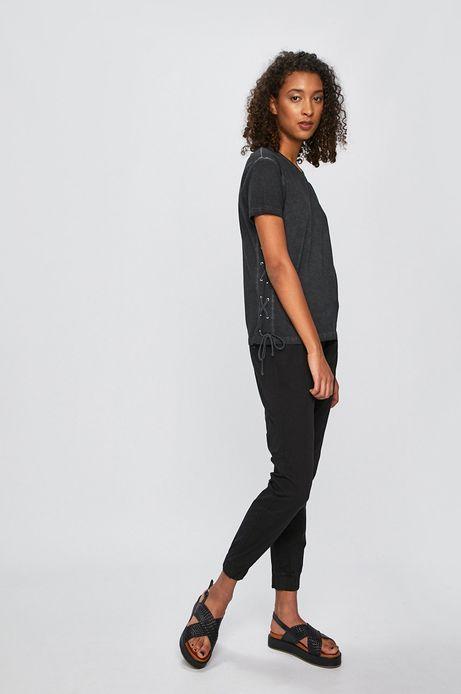 Spodnie damskie joggery czarne