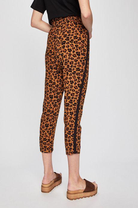 Spodnie damskie z motywem zwierzęcym