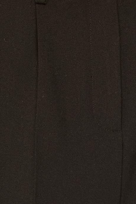 Spodnie damskie czarne ze zwężaną nogawką