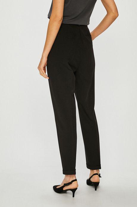 Spodnie damskie ze zwężaną nogawką czarne