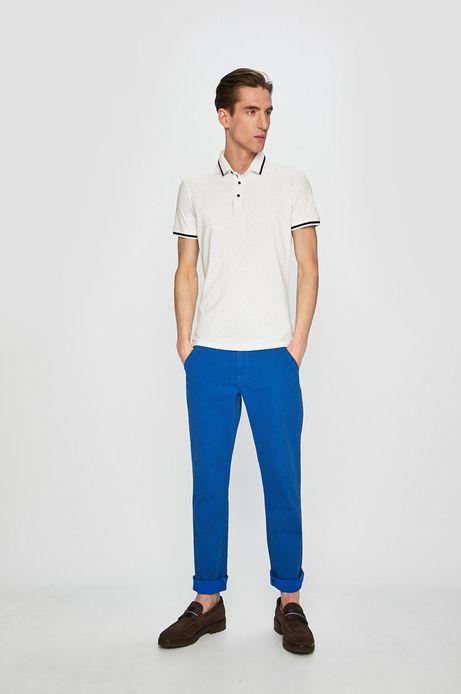 Spodnie męskie regular niebieskie
