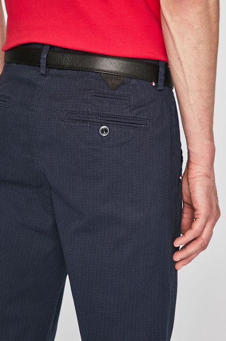 Spodnie męskie regular granatowe