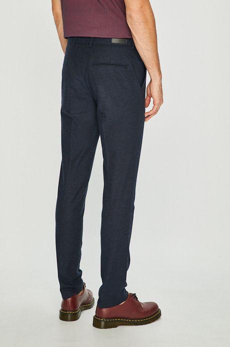Spodnie męskie slim ft granatowe