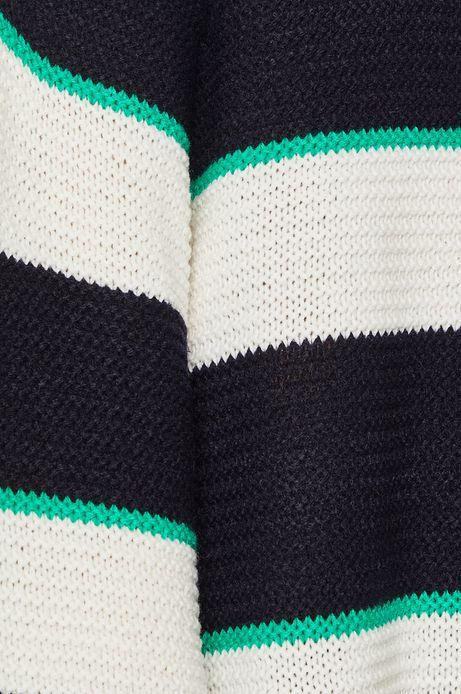 Sweter damski w paski